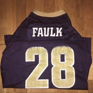 Marshall Faulk Rams Jersey
